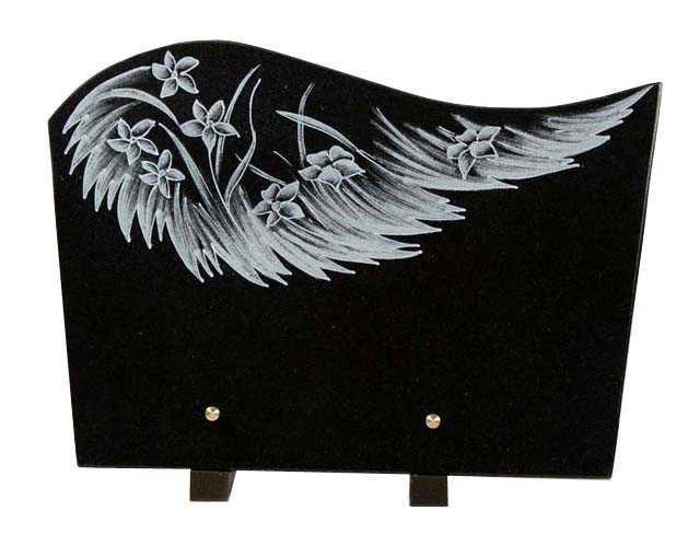 Hand Carved Memorial Plaque Supplier