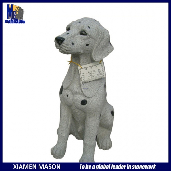 Dog Carved Decoration Granite Sculpture