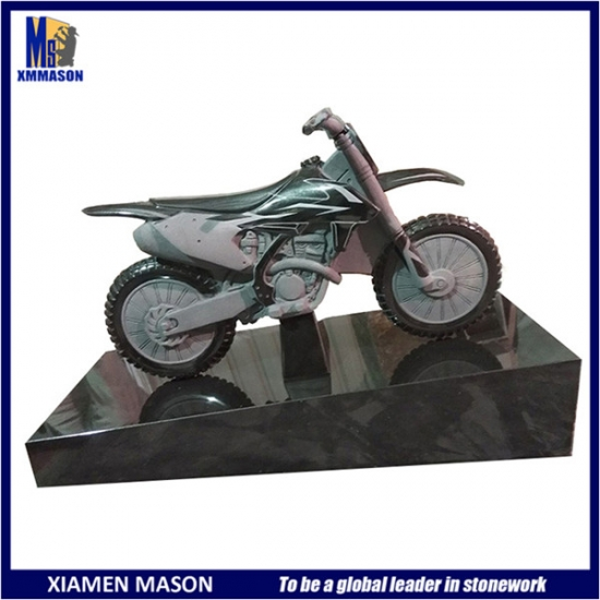 Customized Motorcycle Tombstone