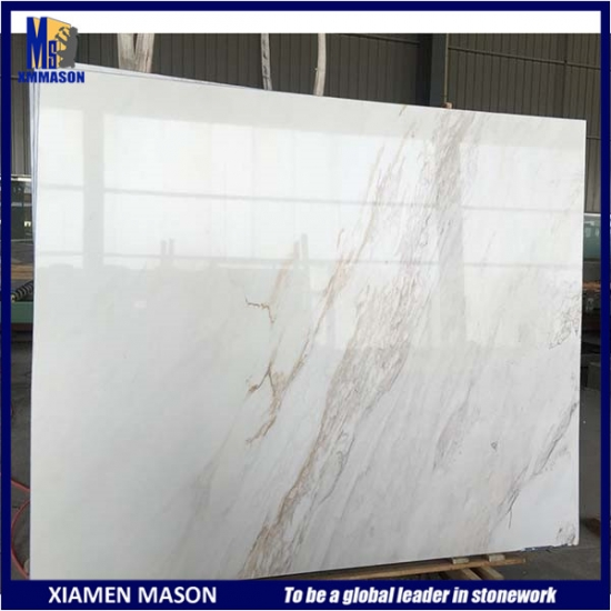 Greek New White Marble for Sale Half Slab